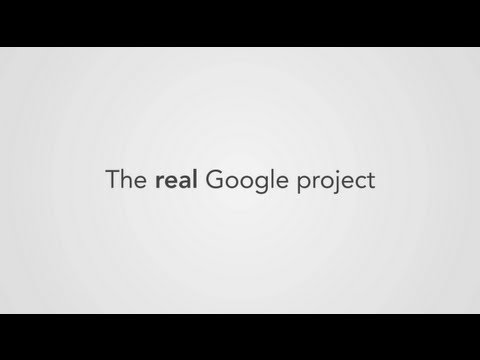 The Real Google Project (Google Glasses)