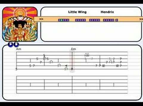 """learn guitar with """"little wing"""""""