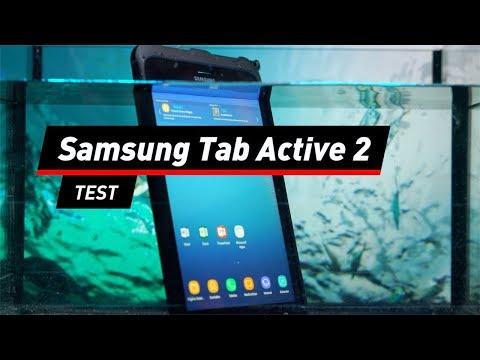 Samsung Galaxy Tab Active 2 im Test: Unter Wasser arb ...