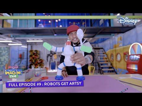 Disney Imagine That | Episode 9 | Robots Get Artsy | Hindi | Disney Channel