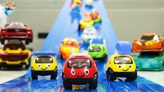 Video Learning Color Disney Cars Lightning McQueen slide Play for kids car toys MP3, 3GP, MP4, WEBM, AVI, FLV Desember 2018