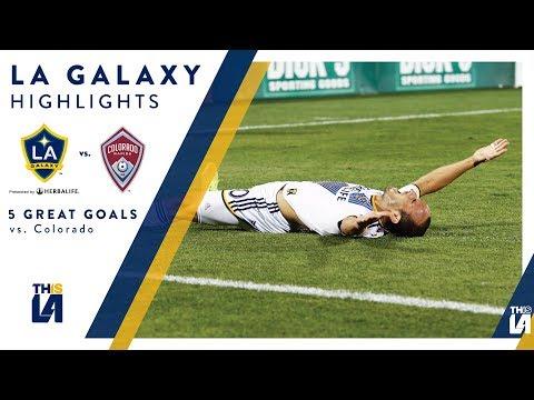 Video: Five Great Goals: LA Galaxy vs. Colorado Rapids