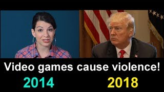 Video Video Games CAUSE violence: 2014 Vs 2018 MP3, 3GP, MP4, WEBM, AVI, FLV Maret 2018