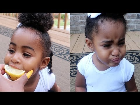 Baby Eating A Lemon For The First Time | VLOGTOBER DAY 20