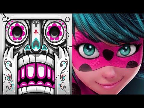 Temple Run 2 Spirits Cove VS Miraculous Ladybug & Cat Noir