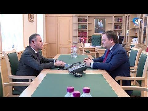 Андрей Никитин встретился с генеральным директором Корпорации МСП Александром Браверманом