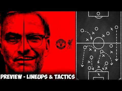 Manchester United VS Liverpool Preview - Tactical Analysis & Predicted Lineups (2018)