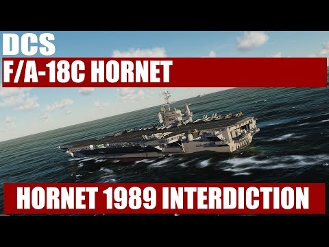 Hornet 1989 Interdiction Mission Test