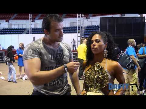 Karina Constantino gana bikini clasificadas hasta 1.57 mts - Campeonato Nacional 2013