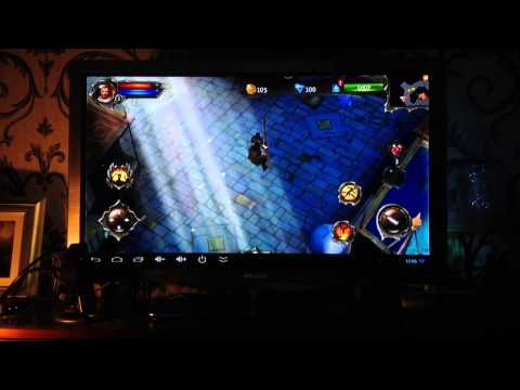 Dungeon Hunter 4 Gameplay on Atlas Android TV STAR
