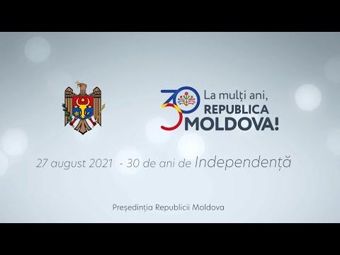 Mesajul Președintelui Republicii Moldova, Maia Sandu, cu prilejul celei de-a 30-a aniversări de la proclamarea Independenței