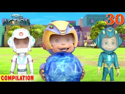 Vir : The Robot Boy | Vir Action Collection - 30 | Action Series | Wowkidz Action