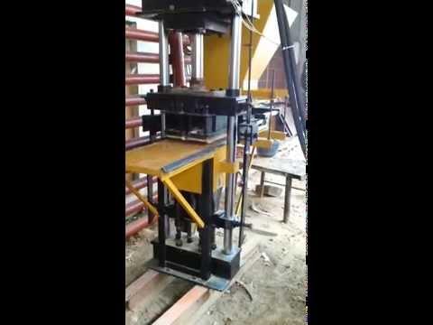 maquinaria para hacer blocks -
