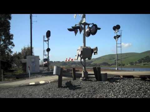 Amtrak California Zephyr #6 near Suisun-Fairfield, CA - 4/15/12