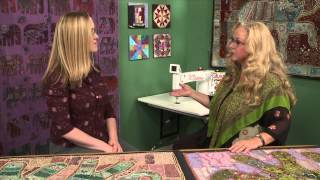Quilters Newsletter TV: Quilts from India with Luana Rubin of eQuilter