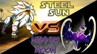 Trận đấu Pokemon diễn ra giữa Sogaleo của AD Quang Lộc và Lunana của AD Hnil- Nhím (chắc không phải nhím đâu)