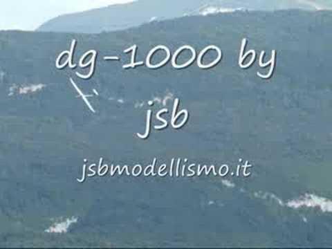 DG1000 rc - riproduzione con motorizzazione elettrica.