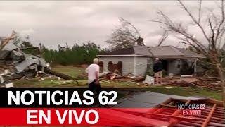 Fuertes tornados dejan víctimas en Alabama y Georgia. – Noticias 62. - Thumbnail