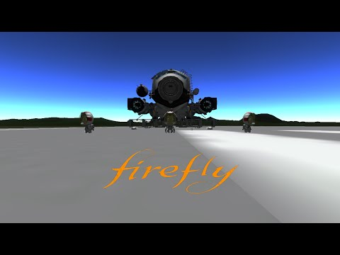 (KSP) Firefly (Serenity NASA) на луну и обратно!