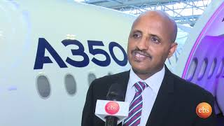 What's New: Ethiopian Airlines first A350 XWB takes shape