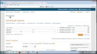 IB699: How To Search And Find Full-text Newspaper Articles In ProQuest - Professor Elahee