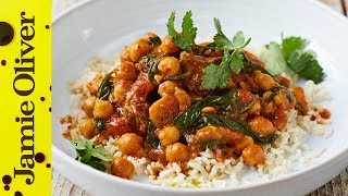 Lamb & Chickpea Curry | Kitchen Daddy by Jamie Oliver