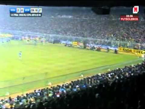 coppa uefa 1985-86: real madrid- borussia m. ottavi di finale - ritorno!