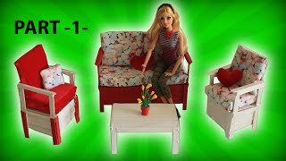 Video Barbie Oturma Odası Nasıl Yapılır? DIY Kendin Yap Barbie Eşyaları - Bidünya Oyuncak Çocuk Videosu MP3, 3GP, MP4, WEBM, AVI, FLV November 2017