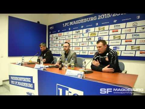 Video: Pressekonferenz - 1. FC Magdeburg gegen Fortuna Köln 0:0 (0:0)