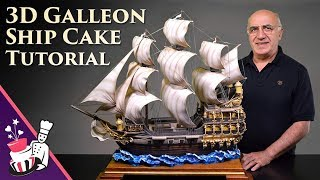 This is an introduction and free sample from our 3D Galleon Ship Cake tutorial at Yeners Way - Cake Art Tutorials. This tutorial can also be used to make a 3D Pirate Ship Cake.The free sample included in this video is on how to make the ocean waves (6:13). Full tutorial can be found at the following link...https://www.yenersway.com/tutorials/3d-cakes/3d-galleon-ship-cake/Music used:Death of Kings 2 by Kevin MacLeod is licensed under a Creative Commons Attribution license (https://creativecommons.org/licenses/by/4.0/)Source: http://incompetech.com/music/royalty-free/index.html?isrc=USUAN1100876Artist: http://incompetech.com/Crusade - Video Classica by Kevin MacLeod is licensed under a Creative Commons Attribution license (https://creativecommons.org/licenses/by/4.0/)Source: http://incompetech.com/music/royalty-free/index.html?isrc=USUAN1100884Artist: http://incompetech.com/