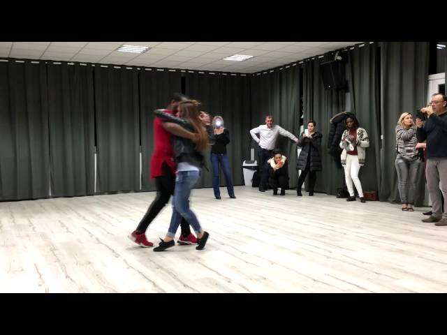 Demonstration by Wilson & Cléa  to Break Dawn by  Nelson Freitas Ft Richie Campbell