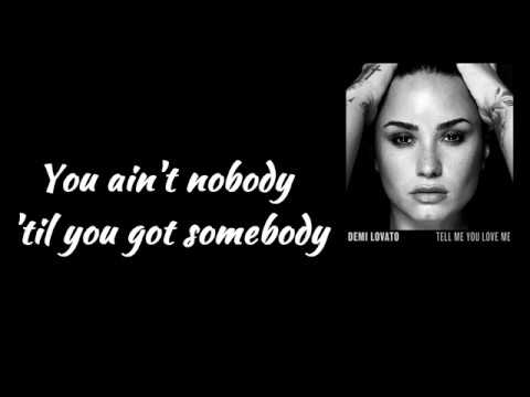 Demi Lovato - Tell Me You Love Me (Lyrics Video)