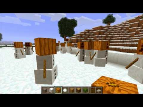 Better Snow Golems Mod