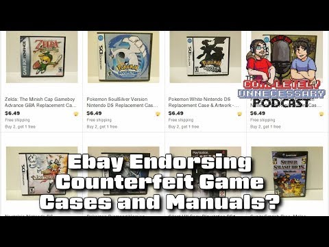 Ebay Encouraging Counterfeit Game Cases  Boxes? CUPodcast