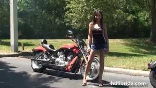 9. Used 2004 Harley Davidson V-Rod Black Motorcycles for sale - Ocala, FL