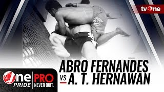 Video One Pride MMA Season 2: Abro Fernandes VS Apep Tatang Hernawan MP3, 3GP, MP4, WEBM, AVI, FLV Mei 2018