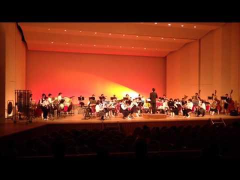 【吹奏楽】豊陽中学校、中津東高校合同グリーンコンサート2014