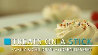 Treats On A Stick Family & Children Meringue Modern Dessert