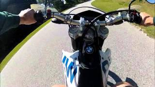 3. ON and OFF Road BMW G450X.wmv