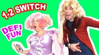 Défi jeux fun 1-2 Switch en couple ! Mélanie et Alexandre font un drôle de Challenge avec la nouvelle console Nintendo Switch et les jeux Air Guitar, Podium,...