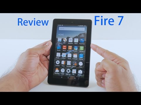 Amazon Fire 7 Review - 2015 Model - 7inch Tablet- $50 !!