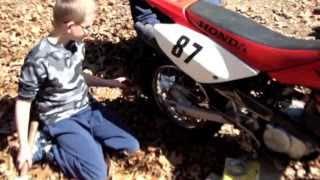 9. Honda  CRF80F Rear Brakes