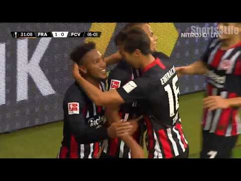 Eintracht Frankfurt vs Vaduz 1-0 Goals & Highlight...