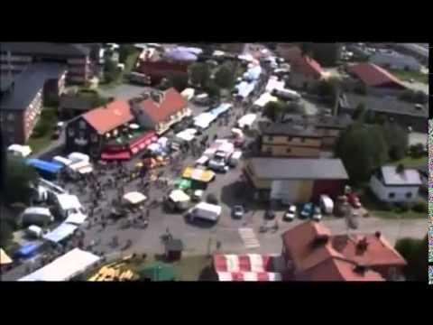 Flygbilder Pajala marknad