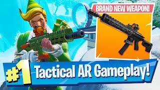 Winning with the NEW Tactical Assault Rifle - Fortnite Battle Royale