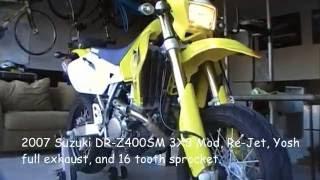 8. My 2007 Suzuki DR-Z400SM