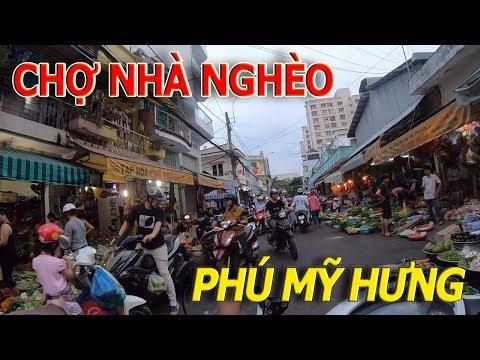 Náo nhiệt CHỢ CHIỀU TÂN MỸ - Chợ CÔNG NHÂN người LAO ĐỘNG GẦN PHÚ MỸ HƯNG QUẬN 7 I cuộc sống sài gòn - Thời lượng: 10 phút.