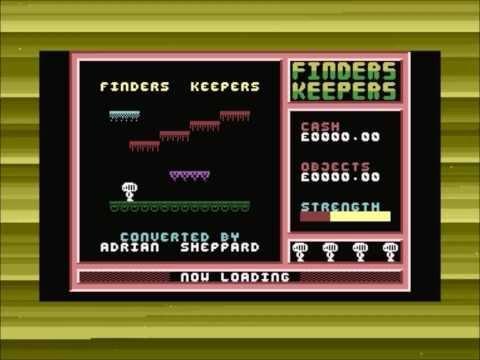 Commodore 16/Plus4 - Finders Keepers - Longplay