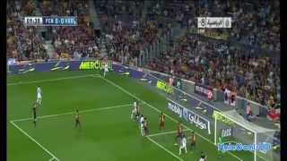 Barca vs Real Valladolid 4-1 Match Goals, Highlights   2013  