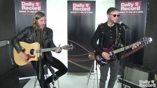 Swedish singer and Swedish House Mafia collaborator John Martin plays an acoustic set at Daily Record HQ in Glasgow, performing 'Anywhere For You' Video by H...